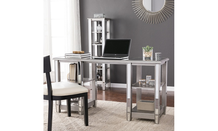 Beau Wedlyn Mirrored Desk