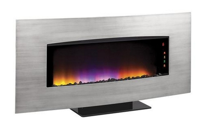 Transcendence Wall Hanging Electric Fireplace