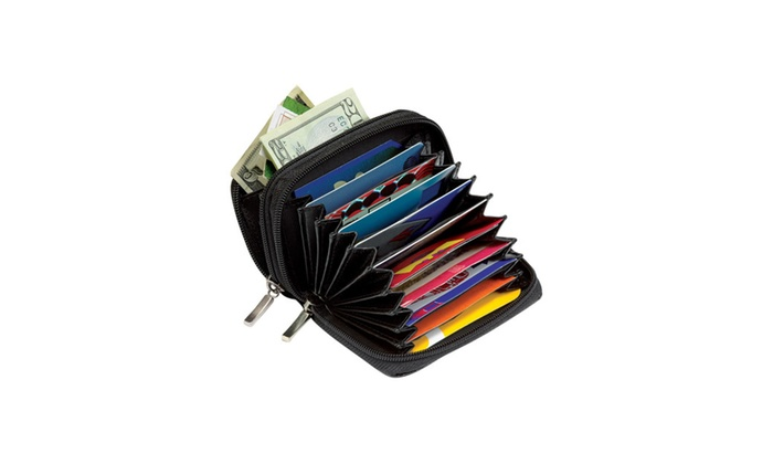 RFID Proof Leather Security Wallet