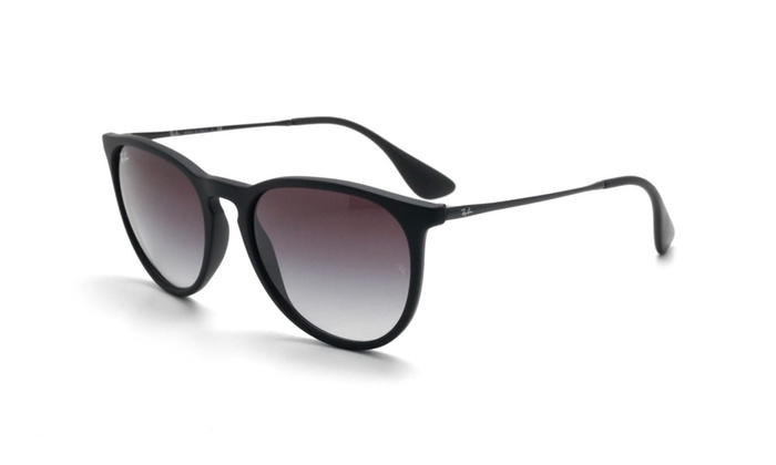 bb64f25b3b1 Ray Ban Erika Women Sunglasses RB4171 622 8G 54 Black   Grey Gradient
