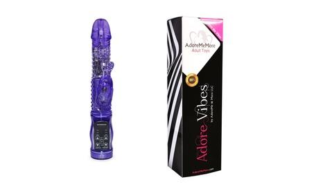 Multi-Mode Rabbit Vibrator (Passion Wave), 12 Speed Vibration, 7 Speed a96fa78f-8b14-4046-9ef9-74bb575db795