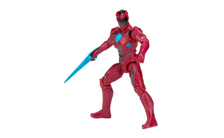 Power Rangers Mighty Morphin Movie - Ranger Action Hero Figure, 5, Red 83ddb94e-0dcf-4e57-8d67-30dabf9317f2