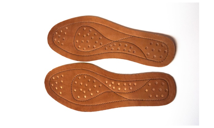 Insoles with copper