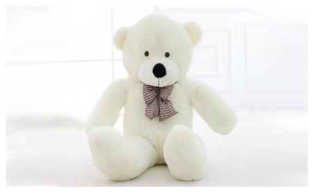 Giant White Teddy Bear - Big Huge Kids Stuffed Animal LARGE Soft Plush a92728e9-5dbf-4ebb-8654-70909389d93e