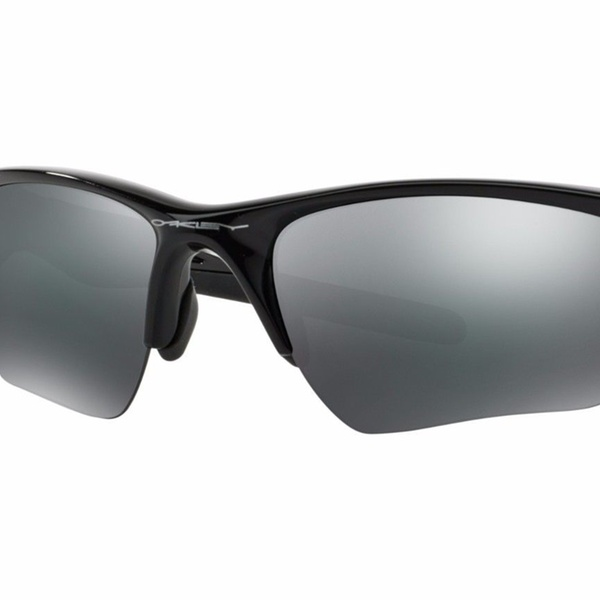 4e9cf28adf27d Oakley Half Jacket 2.0 XL OO9154-01 Polished Black Frame   Black Iridium  Lenses