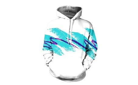 SHINA Unisex 3D Watercolor Digital Printed Hoodie Hooded Sweatshirt a869323b-4893-4437-9baa-6006437aad69