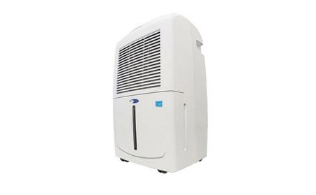 Energy Star 70-Pint Portable Dehumidifier with Pump, White 82a387bf-56f9-4a02-b298-d262f58eae0b