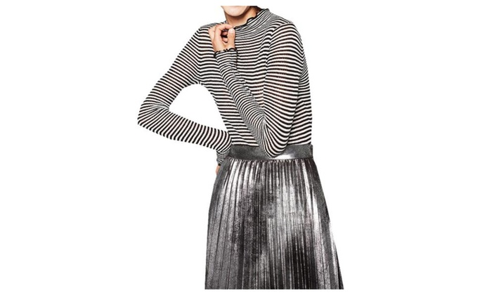 Women's / Ladies Slim Fit Straight Hem Casual Pullovers Sweater