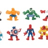 8Pcs The Avengers Alliance Captain America Iron Man Figure Model Toy