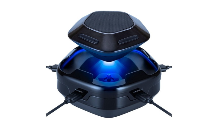 Atomi Sound Hub Portable Bluetooth Wireless Speaker Plus 4-Port USB Charge ...