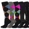 Ladies Knee-Hi Compression Socks (Assorted 3)(6 units)