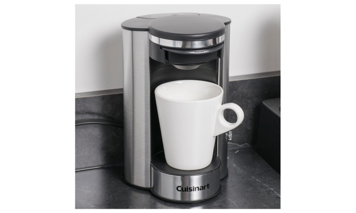 Cuisinart Single Cup Coffee Maker Brews One 8 Oz Cup Of Coffee