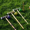 24 Piece 6 Player Beverage-Themed Croquet Set - Complete Game