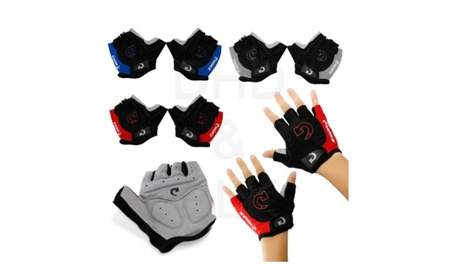 Racing Cycling Motorcycle MTB Bike Bicycle Half Finger Gloves 11e6b646-b657-4e31-9a67-5a46becfeb55