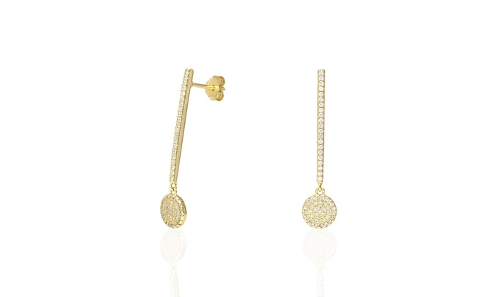 Up To 61% Off on White Yellow Gold Over 925 Si    | Groupon