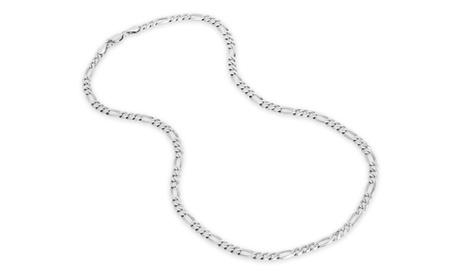Sterling Silver Figaro 100 Gauge Chain df2e8462-3fb8-439e-b6b3-89b1f4d10c52