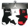 Nike Newborn Baby Socks Black, White, Red, 6 PAIRS, Size 12-24 Months