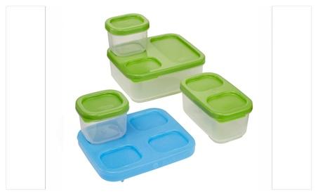Rubbermaid LunchBox Sandwich Kit Food Storage Container Green 3269cdb0-6d15-4b09-854a-0e8d06a6fee6