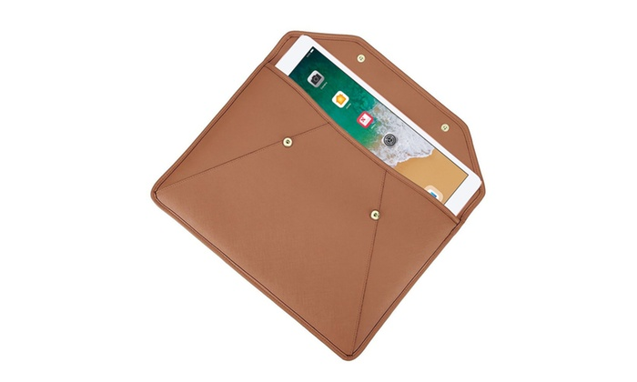 4366c9563ac92c Michael Kors Leather Sleeve for Apple MacBook and iPad | Groupon