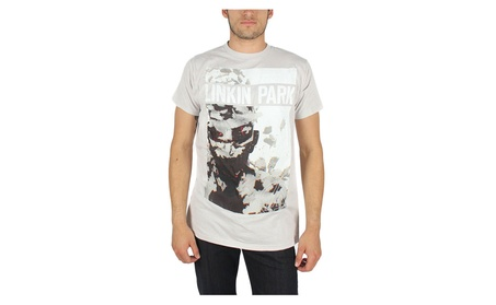 Linkin Park - Mens Perspective Silver T-shirt in Silver 0426b7c0-f801-4180-a13e-864a4eace9f0