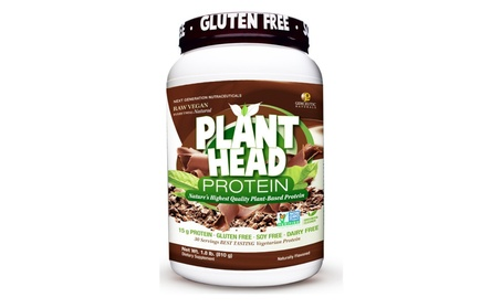 Genceutic Natural Plant Protein Dietary Supplement Chocolate 1.8 Pound