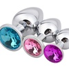 Luxury Jewelry Stainless Steel Anal Plug