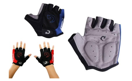 Unisex Cycling Gloves Men Sports Half Finger Anti Slip MTB Gloves 88d5a457-7a66-4892-a82d-920be7f3ae71
