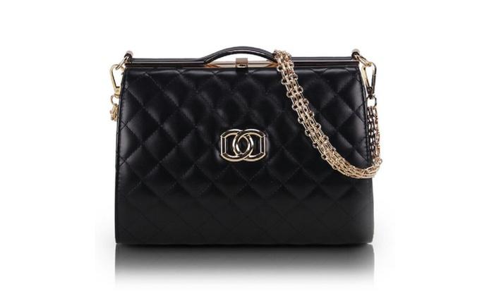 Joshé Boutique: Elegant Patent Handbag