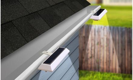 NITEBRITE Solar Gutter or Fence Lights (2-, 4-, or 10-Pack)