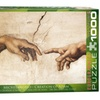 EuroGraphics Puzzles Creation of Adam (Detail)by Michelangelo