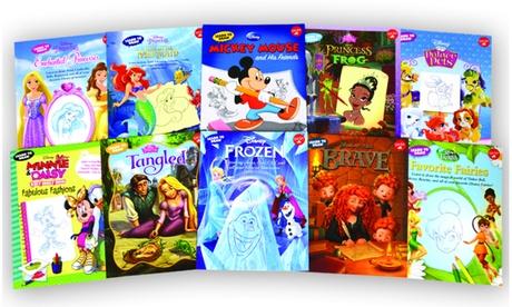 Disney Learn to Draw Book Bundle (10-Pack) 411f7ad0-0b70-4c11-b3d3-0ea97563cfb7