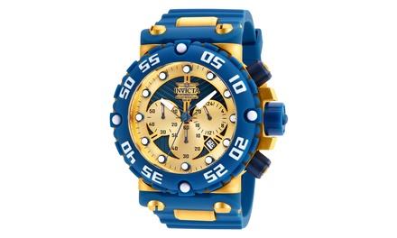 Watch Quartz Dial 25041 Multifunction Invicta GoldBlue Mens Subaqua reCxWBod