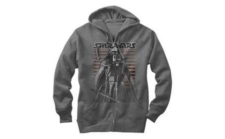Star Wars Classic Distressed Mens Graphic Lightweight Zip Hoodie afd36489-5c6e-4ce8-9e96-d2af85d2ad43