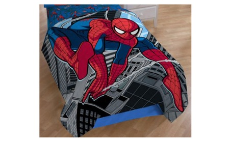 "Spiderman Super Plush Twin / Full Micro Raschel Bed Blanket 62"" X 90 0de145ed-b5c9-4f91-bb0c-d45663cc2946"