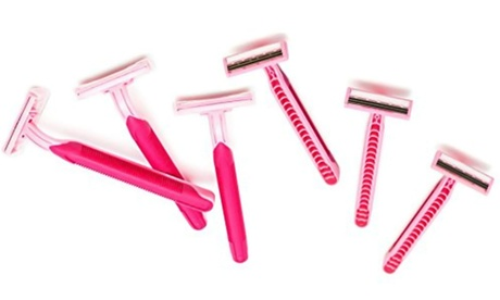 Premium Ladie's Pink Razor For Hair Removal- 12 Pack 8faf6d47-cd3e-4bb5-a2f0-6b03fe0d5497