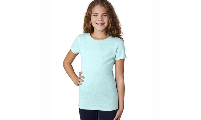 Next Level Girls Princess CVC Crew Tee – 3712-1