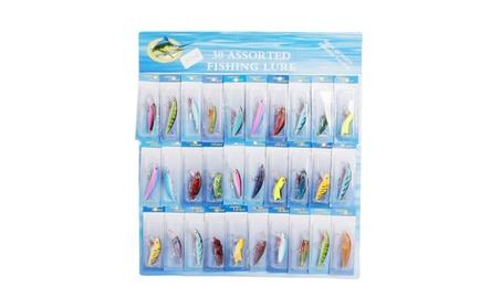 30 PCS Super Long Short/Sink rapidly Fishing Lures Tackle Colorful 97ace849-2460-4b2c-b3bd-d8bd512c8d0b
