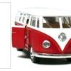 """5"""" Kinsmart Classic 1962 Volkswagen Bus Van"""