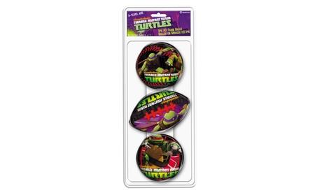 Hedstrom - 3 Pack Teenage Mutant Ninja Turtles Foam Ball Set 92c383f1-5d29-46b8-80c1-9c740aeac7d7