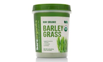 BareOrganics Barley Grass Powder (8 Oz.)