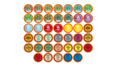 Two Rivers Assorted Tea Variety Sampler for K-Cup Brewers (40-Ct.)