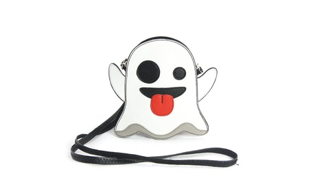 Sleepyville Critters Peek-A-Boo Ghost Crossbody Purse (Goods Women's Fashion Accessories Handbags Cross-Body) photo