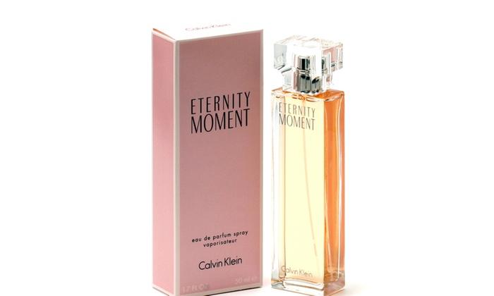 Eternity Moment Ladies By Calvin Klein Edp Spray 17 Oz Groupon