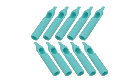 Professional 50Pcs Disposable Sterile Plastic Tattoo Nozzle Tips 18DT 3c6553ab-ae57-495f-9c1c-d595a7a3ae60