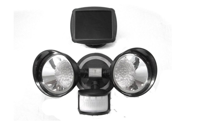 New Durable Waterproof Super Quality Automatic Seceruty Dual Light