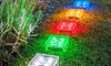 Groupon Goods: Outdoor Solar Ice Cube Path Lights
