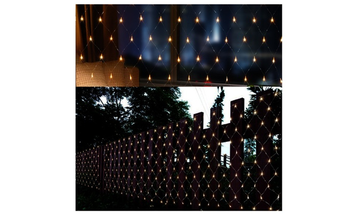 AGPtek 300 LED Net Mesh Fairy String Light Christmas Lights