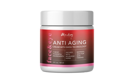 Andy Anand's Glamology Organic Anti Aging Cream: Softens Skin 2 Oz