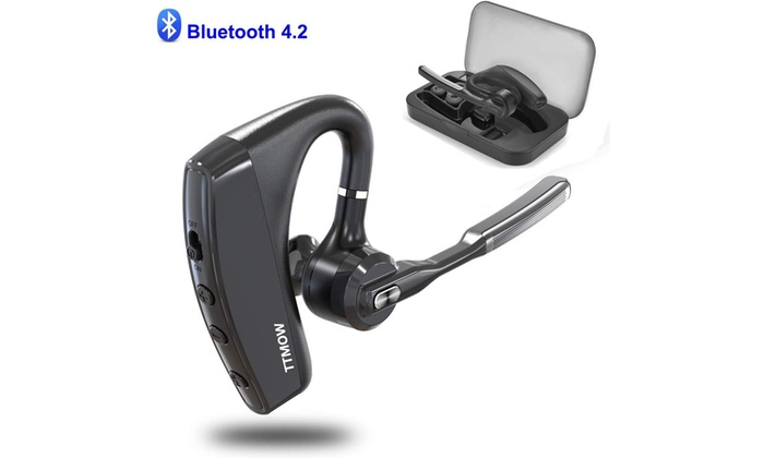 Up To 50 Off On Ttmow Bluetooth Headsets V4 2 Groupon Goods