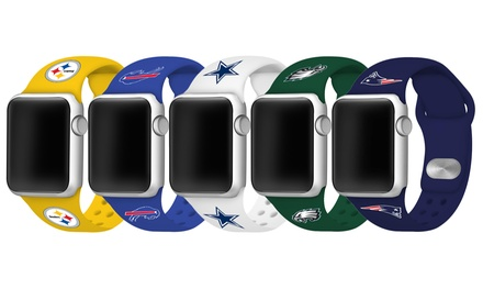 Game Time NFL Apple Watch Silicone Band - 38/40mm or 42/44mm